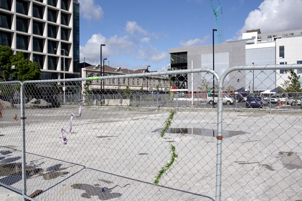 CTV building site, 115 people died, Christchurch NZ after the earthquakes