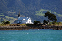 Raukokore church, East Cape, NZ