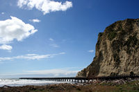 Tologa Bay pier, East Cape, NZ