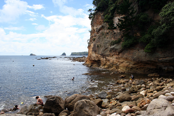 Gemstone Bay, Coromandel Peninsula, NZ.